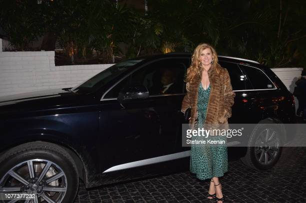 Connie Britton attends Audi Arrivals at W Magazine's Best Performances Party at Chateau Marmont on January 4 2019 in Los Angeles California