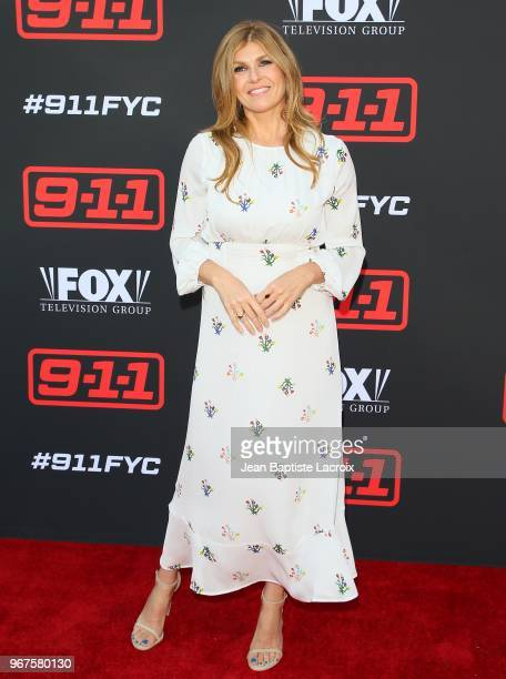 Connie Britton attends FYC event for FOX's '911' held at Saban Media Center on June 4 2018 in North Hollywood California