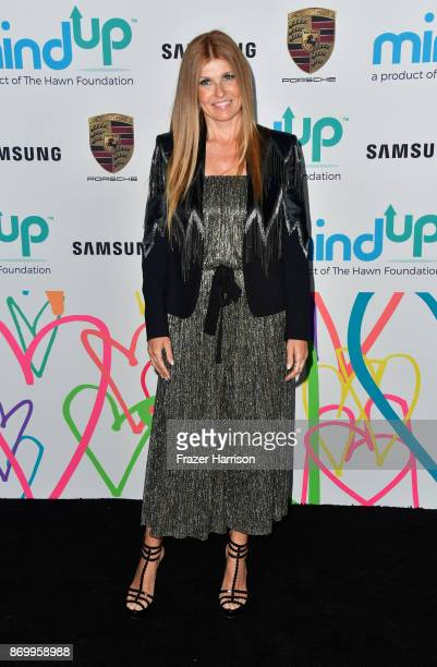 Connie Britton attends Goldie's Love In For Kids at Ron Burkle's Green Acres Estate on November 3 2017 in Beverly Hills California