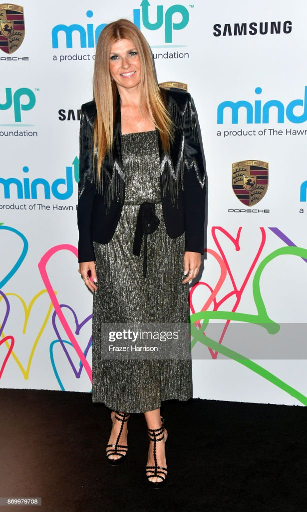 Connie Britton attends Goldie's Love In For Kids at Ron Burkle's Green Acres Estate on November 3, 2017 in Beverly Hills, California.