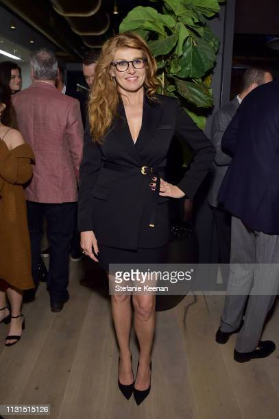 Connie Britton attends the 12th Annual Women in Film Oscar Nominees Party Presented by Max Mara with additional support from Chloe Wine Collection,...