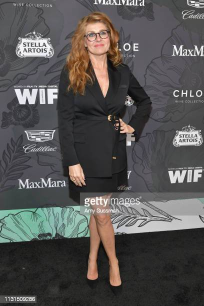 Connie Britton attends the 12th Annual Women In Film Oscar Party at Spring Place on February 22, 2019 in Beverly Hills, California.