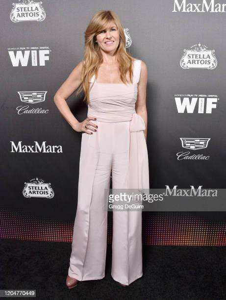 Connie Britton attends the 13th Annual Women In Film Female Oscar Nominees Party at Sunset Room Hollywood on February 07, 2020 in Hollywood,...