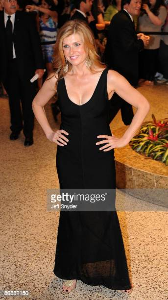 Connie Britton attends the 2009 White House Correspondents' Association Dinner at the Washington Hilton on May 9 2009 in Washington DC