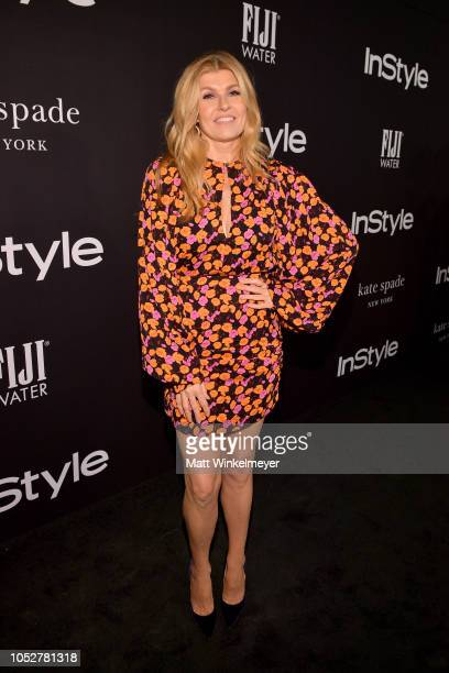 Connie Britton attends the 2018 InStyle Awards at The Getty Center on October 22 2018 in Los Angeles California