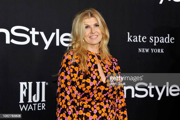 Connie Britton attends the 2018 InStyle Awards with Fiji Water on October 22 2018 in Los Angeles California