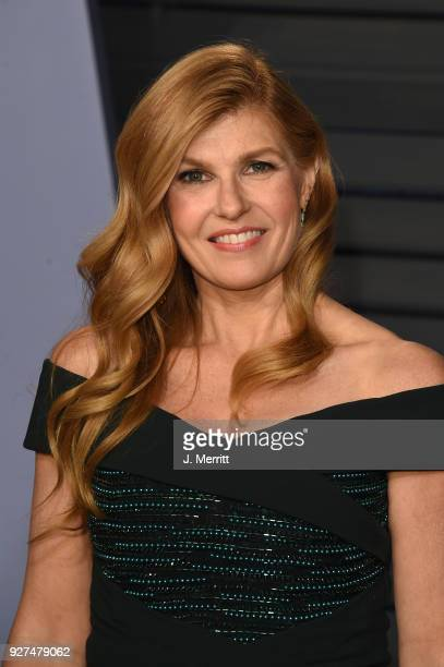 Connie Britton attends the 2018 Vanity Fair Oscar Party hosted by Radhika Jones at the Wallis Annenberg Center for the Performing Arts on March 4,...