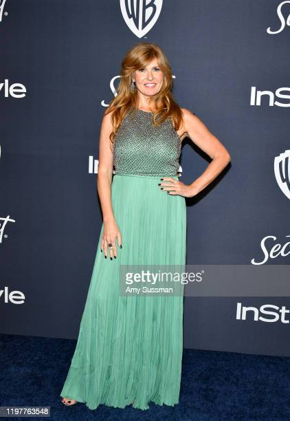 Connie Britton attends the 21st Annual Warner Bros. And InStyle Golden Globe After Party at The Beverly Hilton Hotel on January 05, 2020 in Beverly...