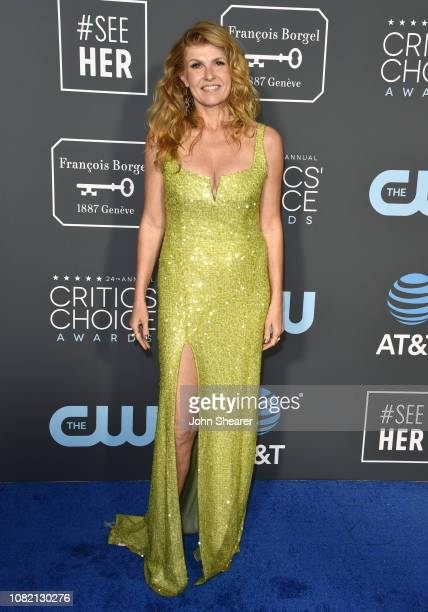 Connie Britton attends The 24th Annual Critics' Choice Awards at Barker Hangar on January 13 2019 in Santa Monica California