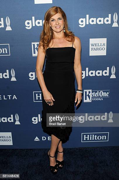 Connie Britton attends the 27th Annual GLAAD Media Awards hosted by Ketel One Vodka at the WaldorfAstoria on May 14 2016 in New York City