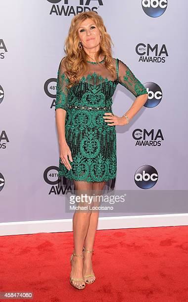 Connie Britton attends the 48th annual CMA Awards at the Bridgestone Arena on November 5, 2014 in Nashville, Tennessee.