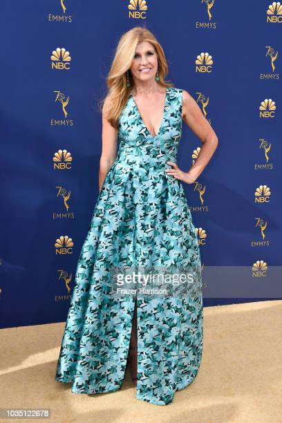 Connie Britton attends the 70th Emmy Awards at Microsoft Theater on September 17 2018 in Los Angeles California