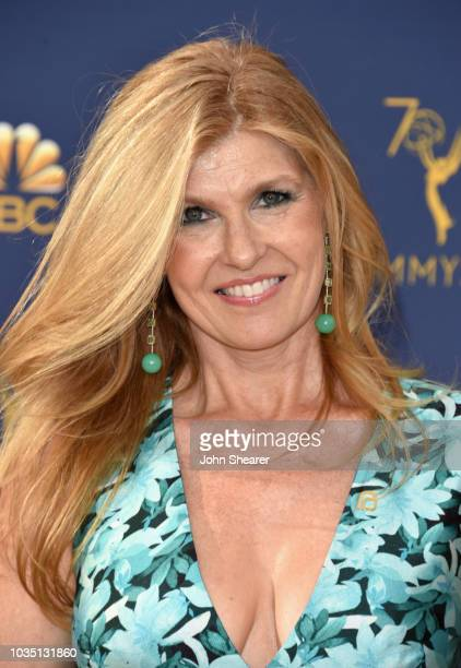Connie Britton attends the 70th Emmy Awards at Microsoft Theater on September 17, 2018 in Los Angeles, California.
