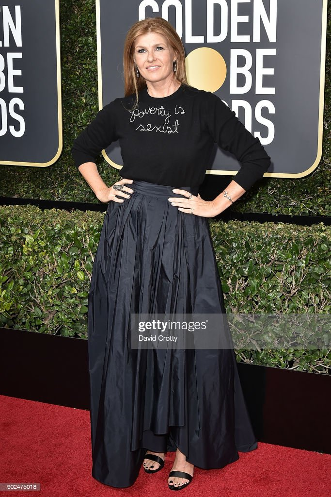 Connie Britton attends the 75th Annual Golden Globe Awards - Arrivals at The Beverly Hilton Hotel on January 7, 2018 in Beverly Hills, California.