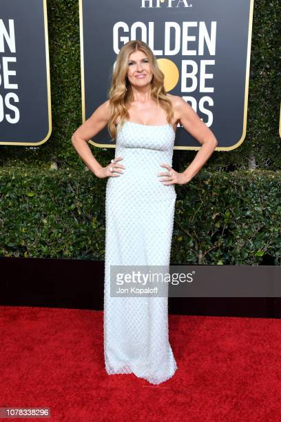 Connie Britton attends the 76th Annual Golden Globe Awards at The Beverly Hilton Hotel on January 6 2019 in Beverly Hills California