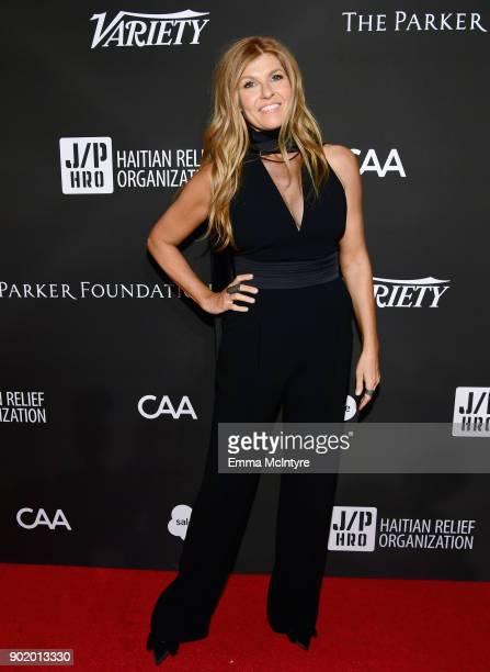 Connie Britton attends the 7th Annual Sean Penn Friends HAITI RISING Gala benefiting J/P Haitian Relief Organization on January 6 2018 in Hollywood...