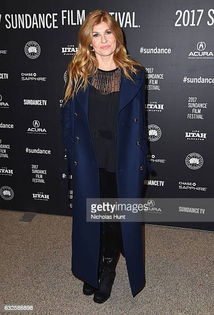 Connie Britton attends the 'Beatriz At Dinner' Premiere at Eccles Center Theatre on January 23 2017 in Park City Utah