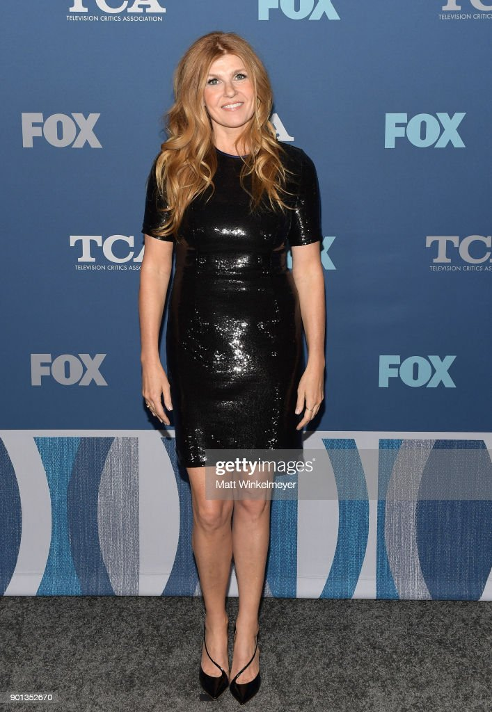 Connie Britton attends the FOX All-Star Party during the 2018 Winter TCA Tour at The Langham Huntington, Pasadena on January 4, 2018 in Pasadena, California.