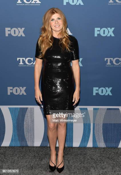 Connie Britton attends the FOX AllStar Party during the 2018 Winter TCA Tour at The Langham Huntington Pasadena on January 4 2018 in Pasadena...