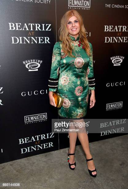 """Connie Britton attends the Gucci & The Cinema Society Host A Screening Of Roadside Attractions' """"Beatriz At Dinner"""" at the Metrograph on June 6, 2017..."""