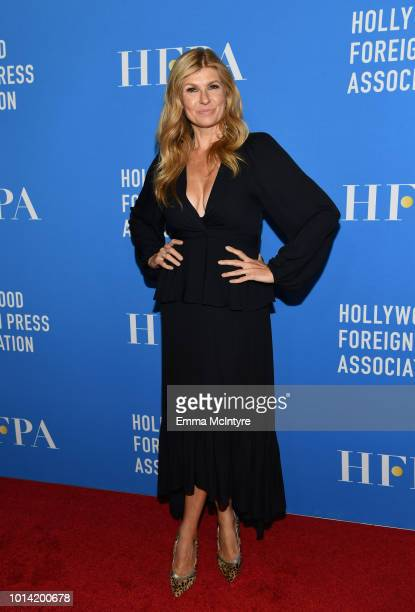 Connie Britton attends the Hollywood Foreign Press Association's Grants Banquet at The Beverly Hilton Hotel on August 9 2018 in Beverly Hills...