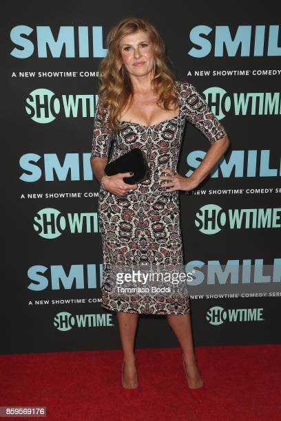 Connie Britton attends the Premiere Of Showtime's SMILF held at Harmony Gold Theater on October 9, 2017 in Los Angeles, California.