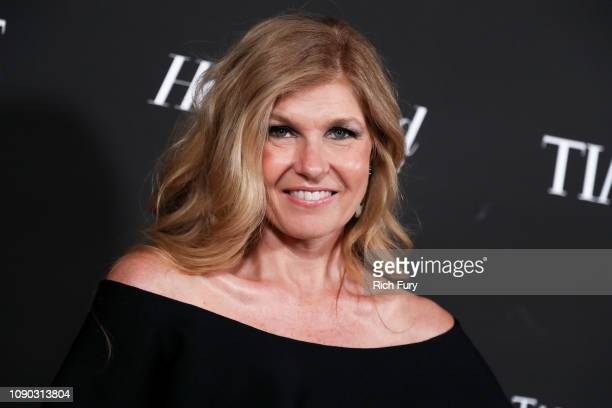 Connie Britton attends the Sean Penn J/P HRO gala benefiting J/P Haitian Relief Organization and a coalition of disaster relief organizations at...