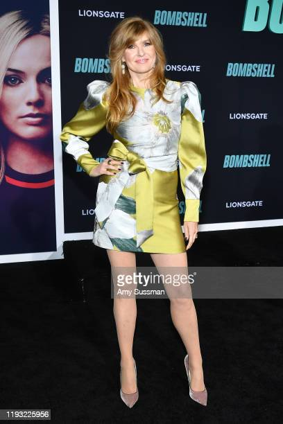 """Connie Britton attends the special screening of Liongate's """"Bombshell"""" at Regency Village Theatre on December 10, 2019 in Westwood, California."""