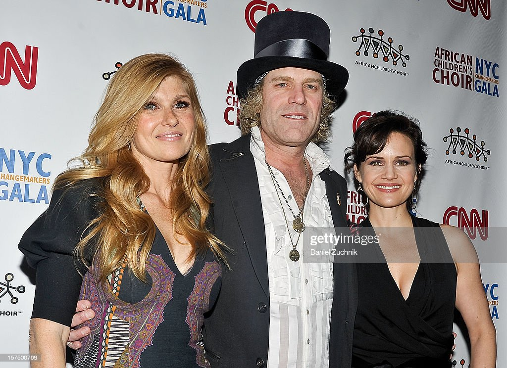 Connie Britton, Big Kenny and Carla Gugino attend the 4th annual African Children's Choir Fundraising Gala at City Winery on December 3, 2012 in New York City.