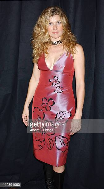 Connie Britton during A Richard Tyler Fashion Show To Benefit The Big Bam at Bamboo Colony Design Studio in Los Angeles California United States