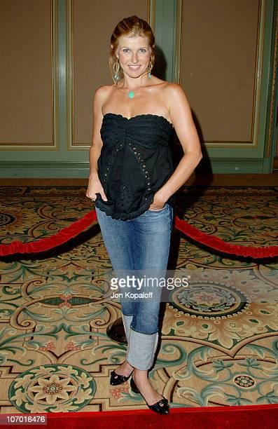 Connie Britton during NBC 2006 Summer AllStar Party at Ritz Carlton Hotel in Pasadena California United States
