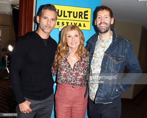 Connie Britton Eric Bana and Nate Jones attend 'Dirty John' during Vulture Festival presented by ATT at Hollywood Roosevelt Hotel on November 17 2018...