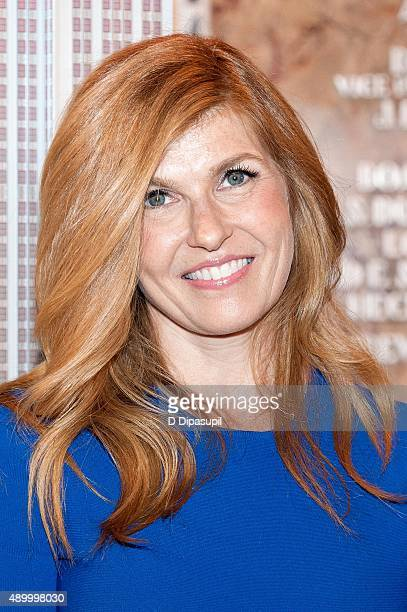 Connie Britton lights The Empire State Building to celebrate the 2015 Global Citizen Festival on September 25 2015 in New York City