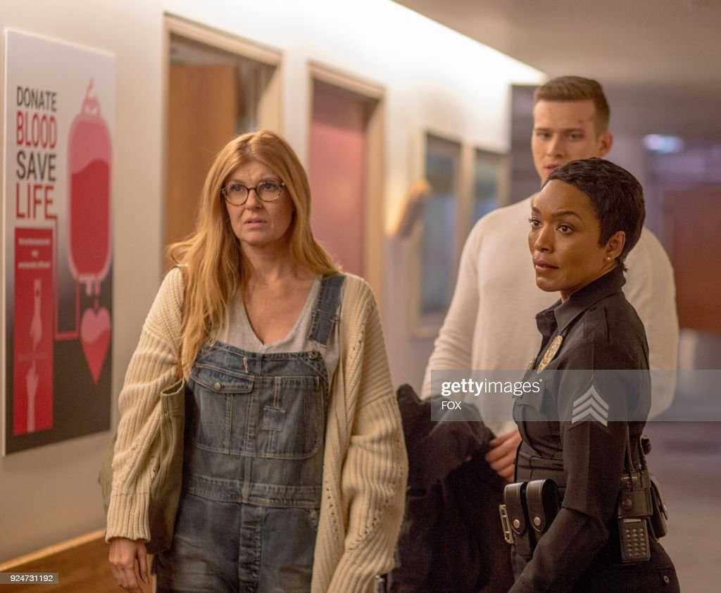 Connie Britton, Oliver Stark and Angela Bassett in the all-new Point of Origin episode of 9-1-1 airing Wednesday, Jan. 31 (9:00-10:00 PM ET/PT) on FOX.