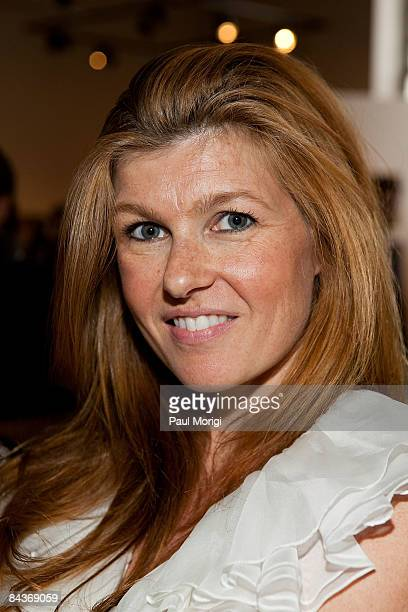 Connie Britton poses at the Creative Coalition's Students Inaugural Program at the Cole Field House at the University of Maryland on January 19 2009...