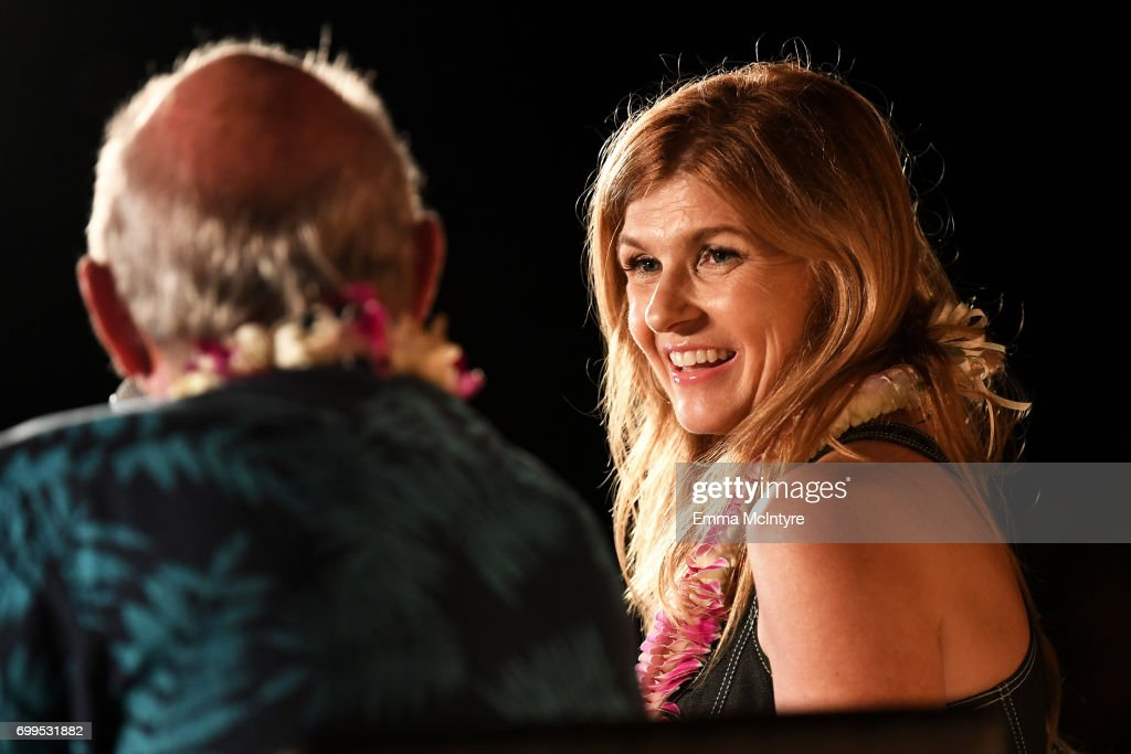 Connie Britton, recipient of the Navigator Award, speaks at the 'Celestial Cinema' during day one of the 2017 Maui Film Festival At Wailea on June 21, 2017 in Wailea, Hawaii.