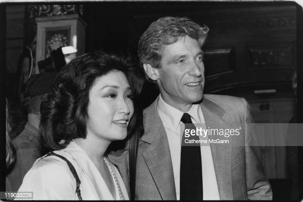 Connie Chung and Maury Povich at an event in July 1989 in New York City New York