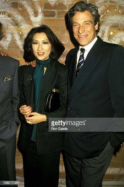 Connie Chung and Maury Povich during Chinese Orchestra at Lincoln Center in New York City New York United States