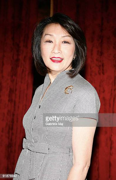 Connie Chung attends Lighthouse International's Henry A Grunwald Award For Public Service luncheon at The Metropolitan Club on October 13 2009 in New...