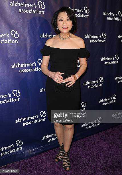 Connie Chung attends the 2016 Alzheimer's Association's A Night At Sardi's at The Beverly Hilton Hotel on March 9 2016 in Beverly Hills California