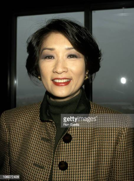 Connie Chung during 10th Annual Women's Power Lunch Benefit City Meals on Wheels at Rainbow Room in New York City New York United States