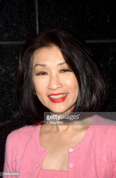 Connie Chung during ABC News honors Barbara Walters for her 25 years on 20/20 at Times Square Studio in New York City New York United States