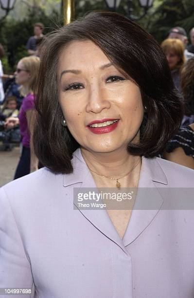 Connie Chung during American Women in Radio and Television book launch luncheon for Making Waves The 50 Greatest Women in Radio and Television at...