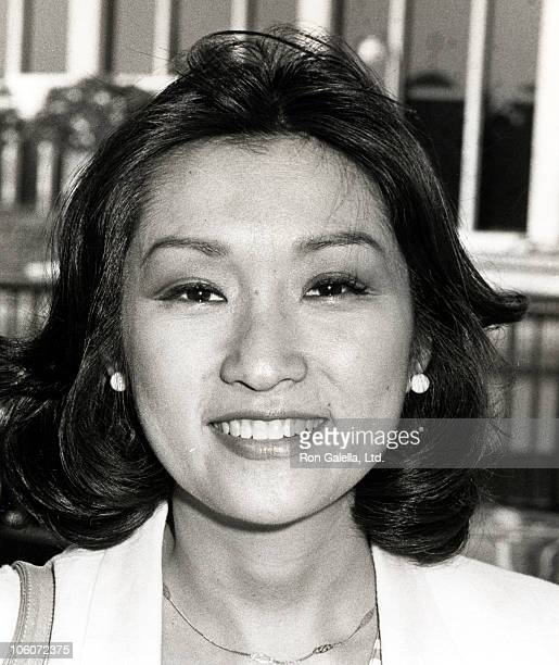 Connie Chung during Connie Chung at a NBC Affiliates Party at Century Plaza Hotel in Los Angeles California United States