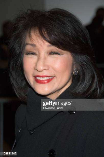 Connie Chung during The Sopranos Sixth Season New York City Premiere Outside Arrivals at Museum of Modern Art in New York City New York United States