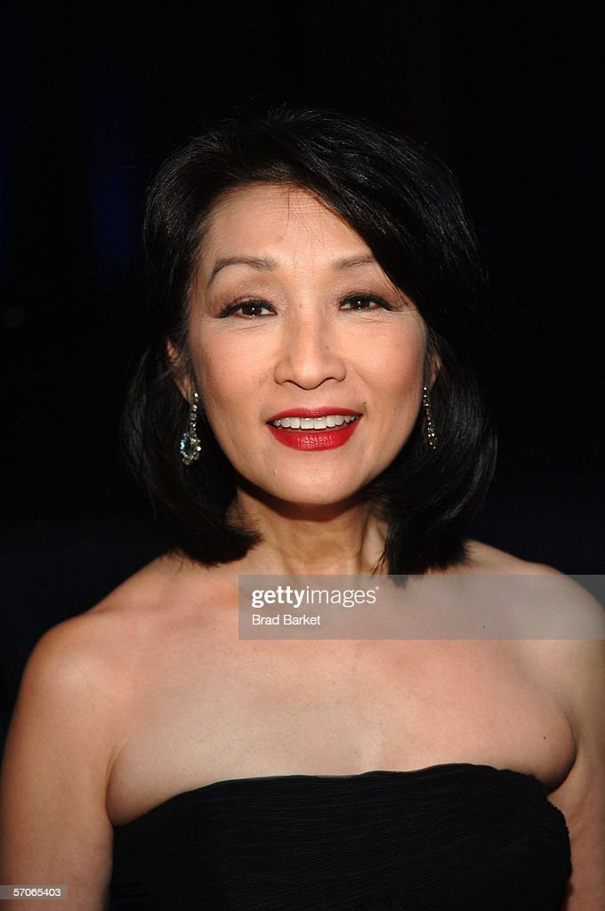Connie Chung poses for a picture at the 2006 New York Emmy Awards at the the Marriott Marquis on March 12, 2006 in New York City.
