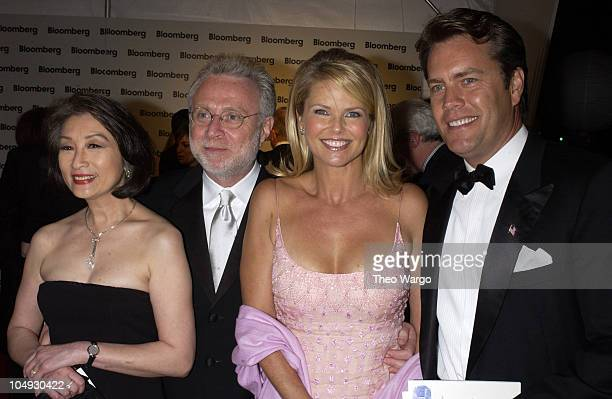 Connie Chung Wolf Blitzer Christie Brinkley husband Peter Cook