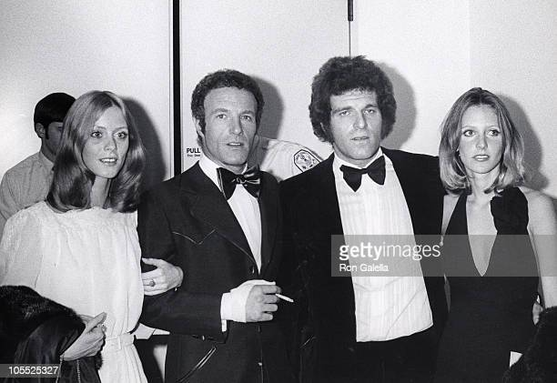 Connie Creski James Caan his brother and guest during 'Funny Lady' New York City Premiere in New York City New York United States