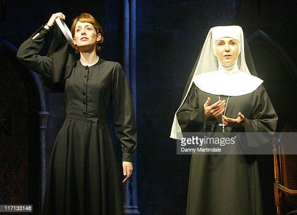 Connie Fisher and Lesley Garrett during The Sound of Music 2006 London Stage Production Photocall at London Palladium in London Great Britain