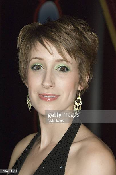 """Connie Fisher attends the """"Joseph And The Amazing Technicolor Dreamcoat"""" first night after party on July 17th, 2007 in London."""